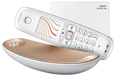Gigaset telefon bezprzewodowy CL750, Sculpture