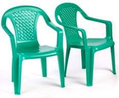 Grand Soleil 2 krzesła dla dzieci, zielone
