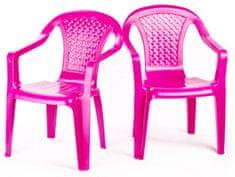 Grand Soleil Sada 2 židličky růžová