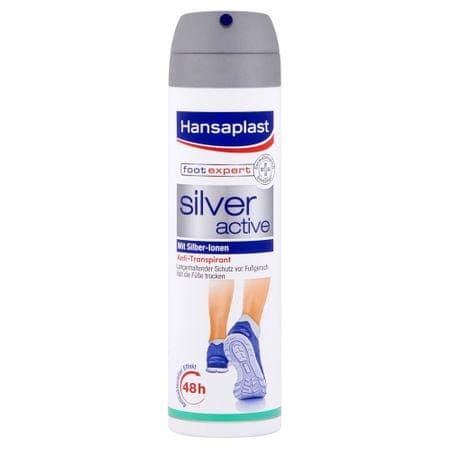 Hansaplast Sprej na nohy Silver Active