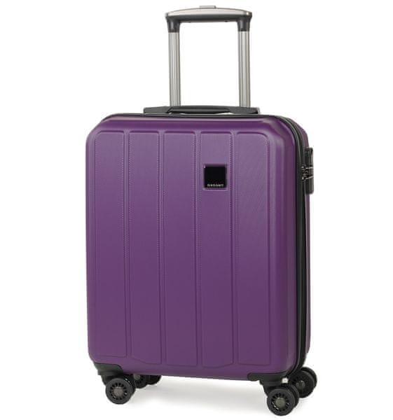Member's Cestovní kufr TR-0136/4-50 ABS fialová