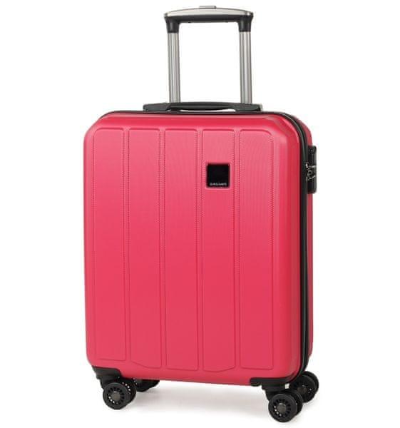 Member's Cestovní kufr TR-0136/4-50 ABS růžová