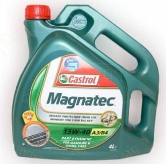 Castrol motorno olje Magnatec A3/B3 15W-40, 4 l