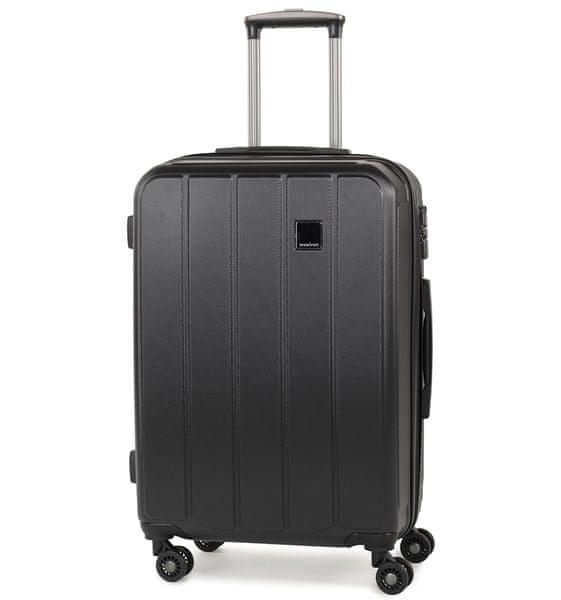 Member's Cestovní kufr TR-0136/4-60 ABS černá