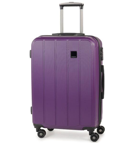 Member's Cestovní kufr TR-0136/4-60 ABS fialová