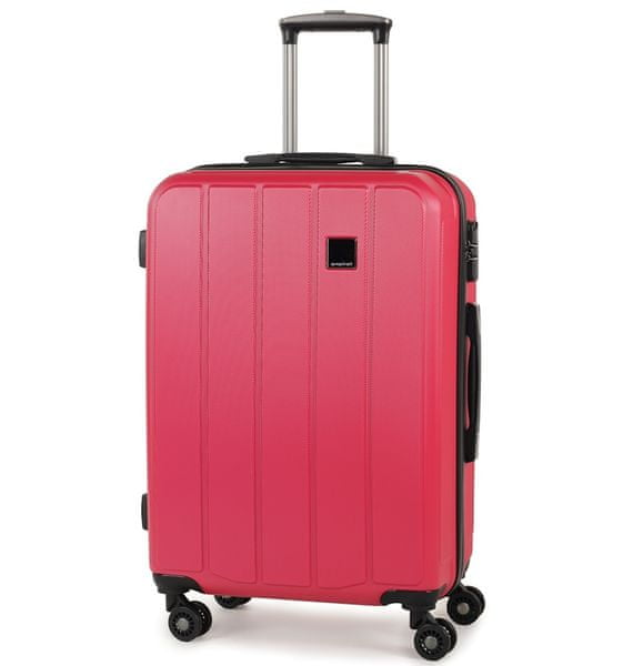 Member's Cestovní kufr TR-0136/4-60 ABS růžová