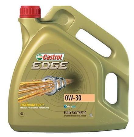 Castrol motorno olje Edge 0W-30, 4 l