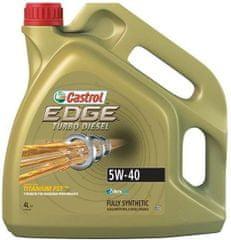 Castrol motorno olje Edge TD Titanium 5W40, 4 l
