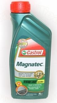 Castrol motorno olje Magnatec A3/B3 15W-40, 1 l
