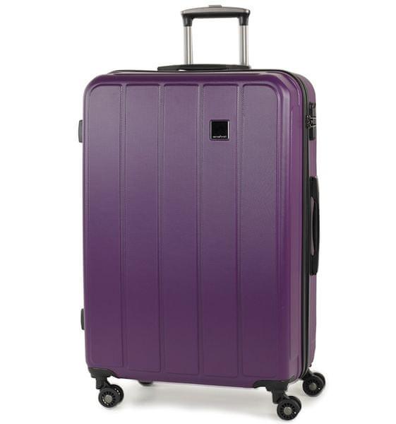 Member's Cestovní kufr TR-0136/4-70 ABS fialová