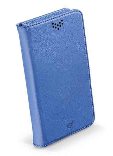 CellularLine univerzální pouzdro BOOK UNI AGENDA, velikost XL, modré