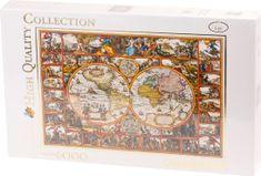 Clementoni Historická mapa světa 6000 dílků