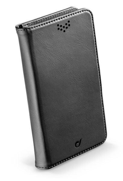 CellularLine univerzální pouzdro BOOK UNI AGENDA, velikost XL, černé