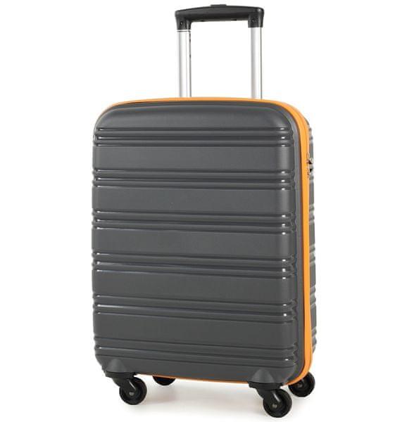 Rock Cestovní kufr TR-0125/3-50 PP, šedá