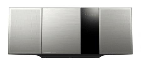 Panasonic glasbeni stolp SC-HC395EG, srebrn