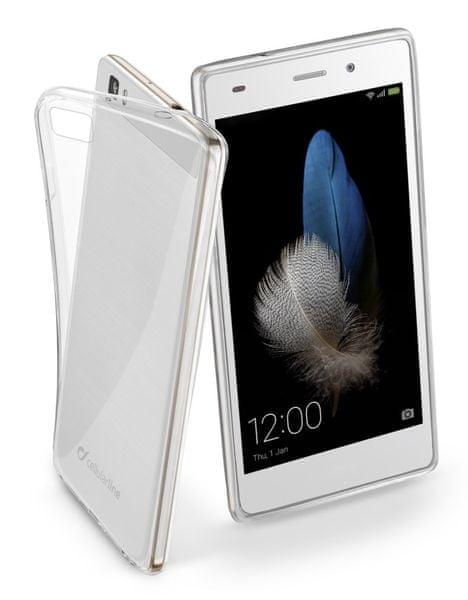CellularLine extratenký zadní kryt Fine, Huawei P8 LITE, čirý