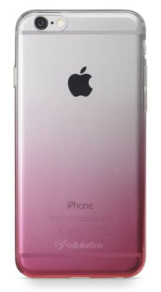 CellularLine zadní kryt SHADOW, iPhone 6/6S, růžový