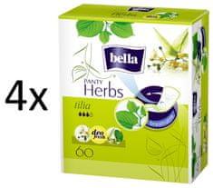 Bella Herbs Tilia dnevni ulošci, 4 x 60 komada