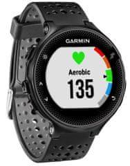 Garmin zegarek sportowy Forerunner 235, czarny