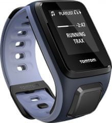 "TomTom Runner 2, GPS, Sky Captain Blue Purple Haze, ""S"" - rozbaleno"