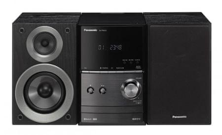 Panasonic glasbeni stolp SC-PM600EG-K, črna