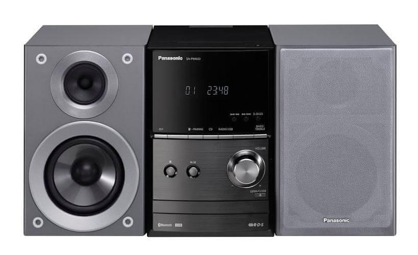 Panasonic SC-PM600EG-S, stříbrná