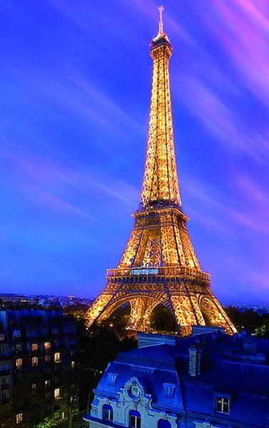 Postershop Fotoobraz Eiffelova věž 51x81 cm