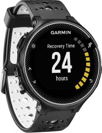 Garmin zegarek sportowy Forerunner 230, czarno-biały