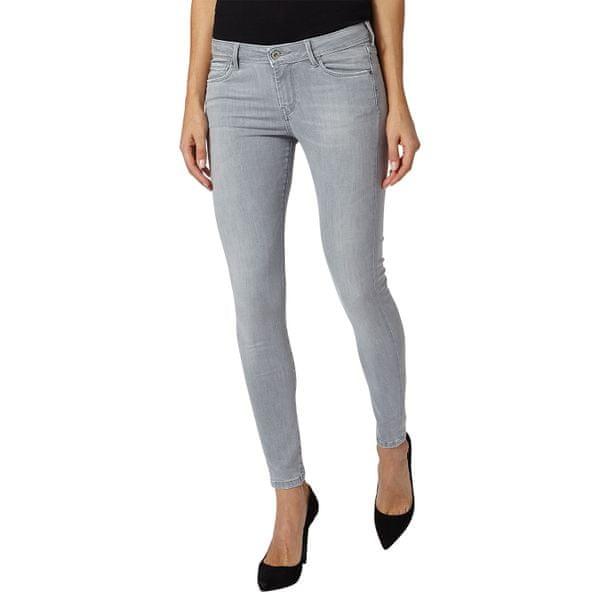Pepe Jeans dámské jeansy Lola 30/30 šedá