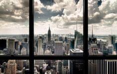 Postershop New Yorki kilátás vászonkép, 81x51 cm