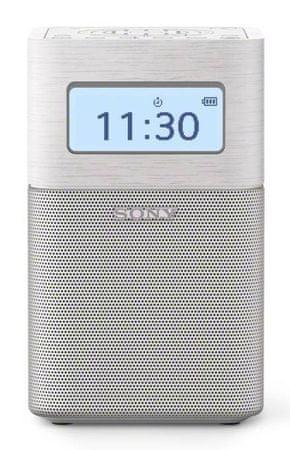SONY radio przenośne SRFV1BT, biały
