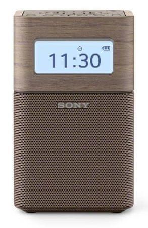 SONY radio przenośne SRFV1BT, brązowy