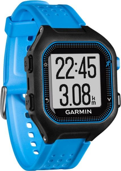 Garmin Forerunner 25, Black Blue, GPS, XL