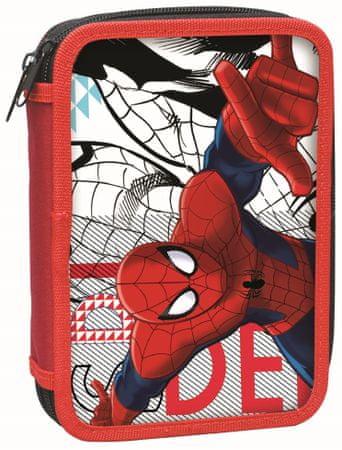 301d324584a GIM Školní dvoupatrový penál Spiderman - plněný - Parametry