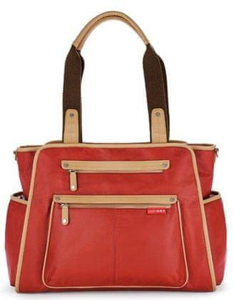 Skip hop previjalna torba Grand Central, rdeča