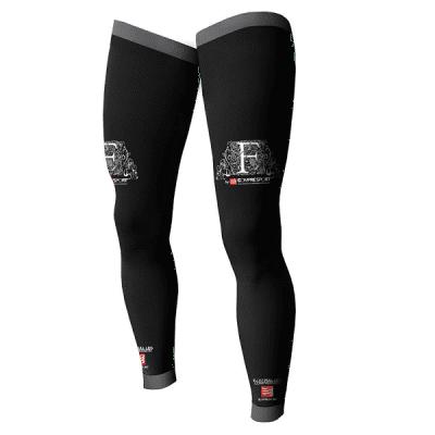 Compressport nogavički Full Leg 2+, črni