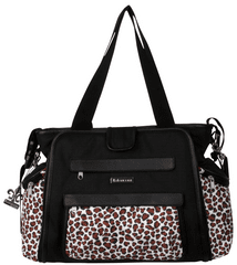 Kalencom Přebalovací taška Nola Black/Safari Cheetah