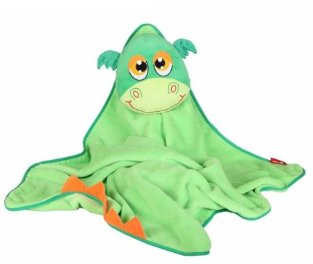 Okiedog Dětská cestovní deka s polštářem - Dragon