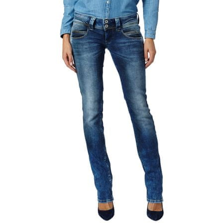 Pepe Jeans dámské jeansy Venus 25/32 modrá