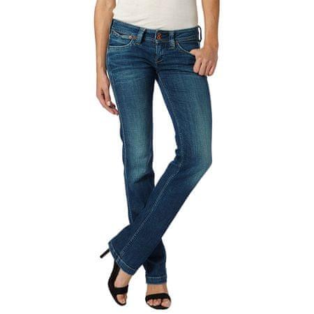 Pepe Jeans jeansy damskie Banji 33/34 niebieski