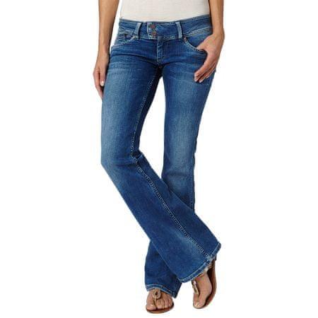 Pepe Jeans jeansy damskie Pimlico 29/34 niebieski
