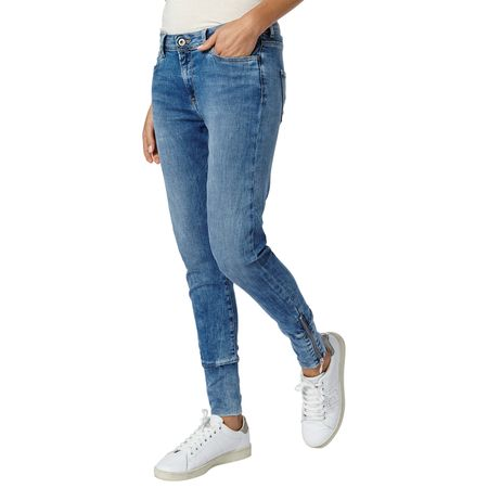Pepe Jeans jeansy damskie Flexy 28 niebieski