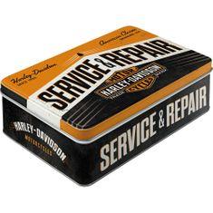 Postershop Dóza Harley Davidson Service & Repair