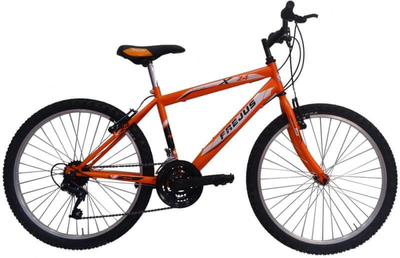 """Frejus X24 24"""" chlapecké oranžové"""
