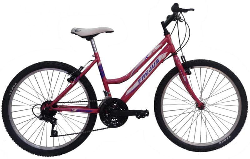"""Frejus X24 24"""" dívčí růžové"""