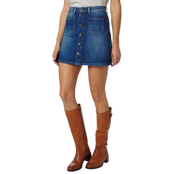 Pepe Jeans dámská sukně Tate L modrá