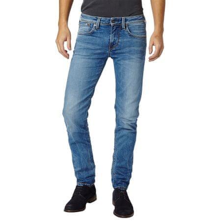 Pepe Jeans pánské jeansy Hatch 34/32 modrá