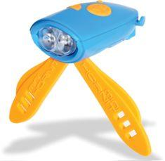 Mini Hornit Zábavná houkačka se světlem modrá