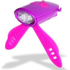 Mini Hornit Zábavná houkačka se světlem fialová