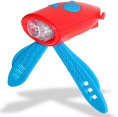 Mini Hornit Zábavná houkačka se světlem červená